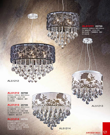Fabric  & Shade Chandeliers