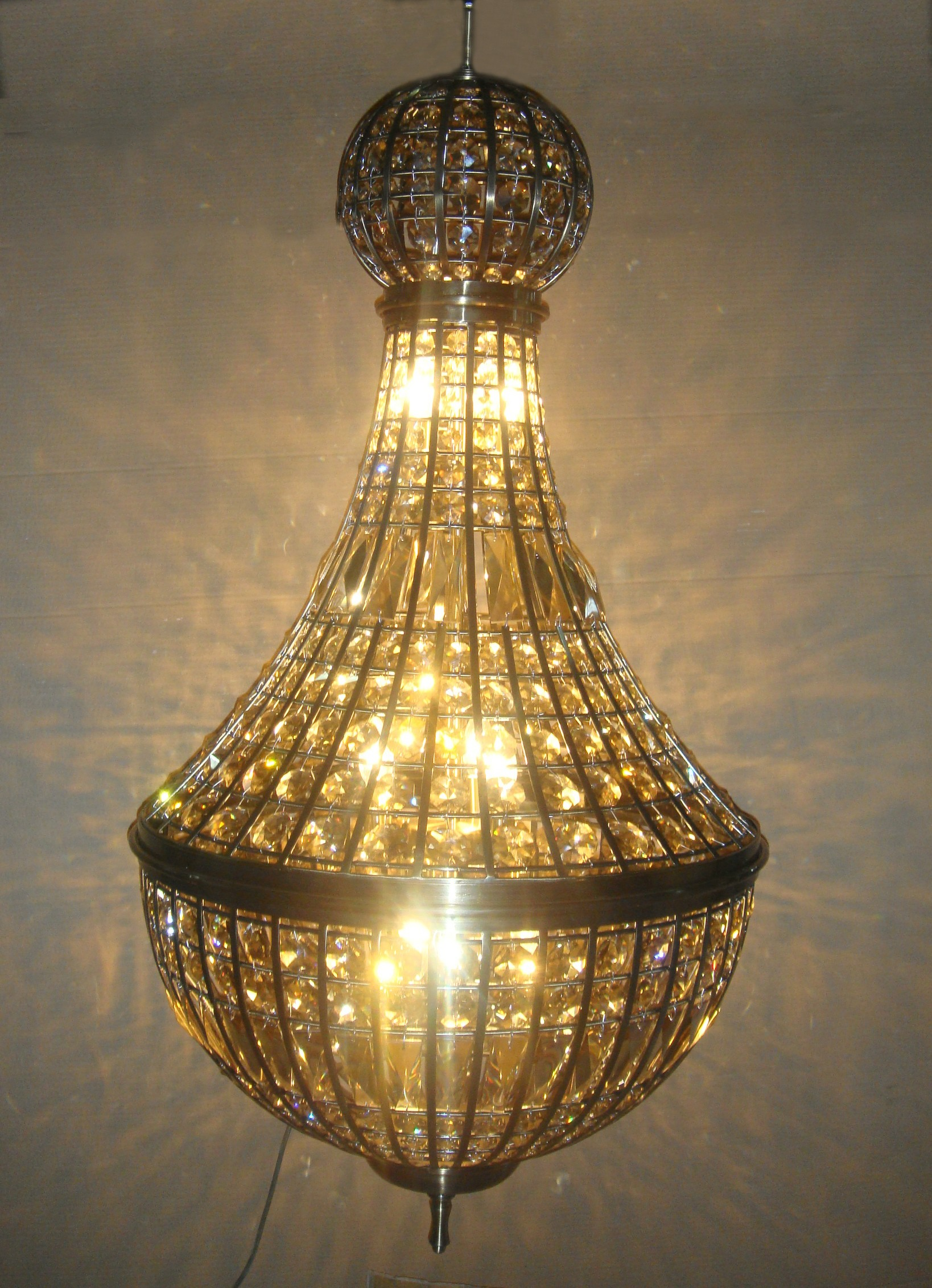 Of kiev 9 light antique bronze crystal large sized chandelier anne of kiev 9 light antique bronze crystal large sized chandelier 492hx254w xtk662359 63 arubaitofo Image collections