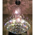 """Isabella of Madrid, 9L Grand  Royal Cut  Asfour Crystal droplet Chandelier (22""""Wx28""""H) XTK-0923"""